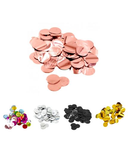 Coriandoli Confetti da Tavola Colorati Metal 2cm