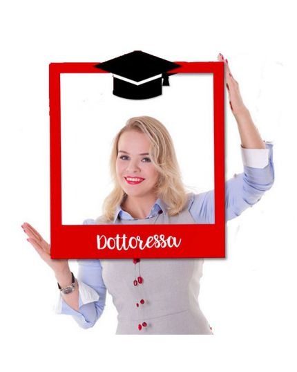 Cornice per Selfie Laurea Dottoressa