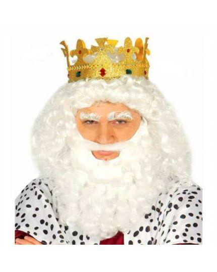Corona da Re Glitter Oro