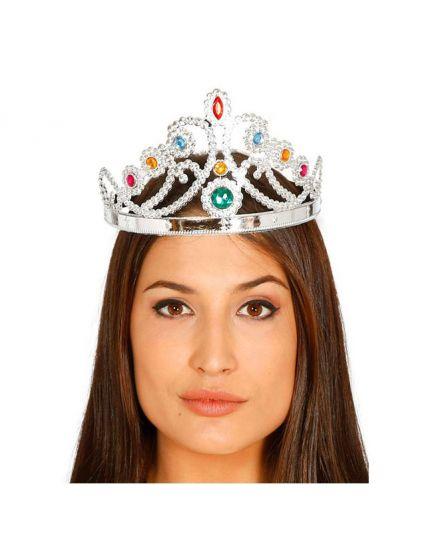 Corona Regina con Pietre