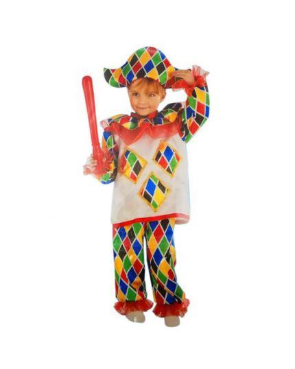 Costume Arlecchino Baby