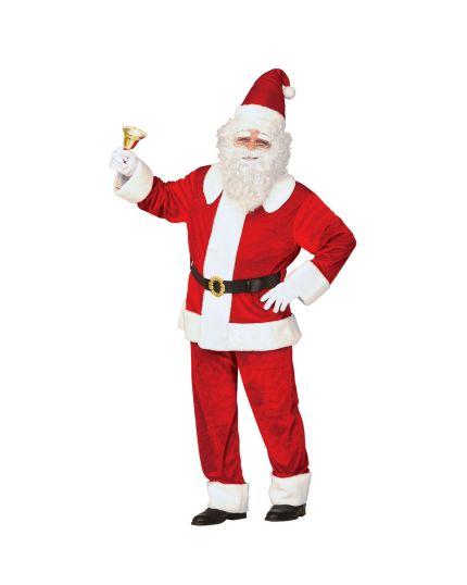 Costume Babbo Natale Extra Lusso Uomo