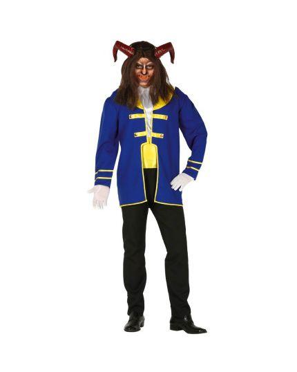 Costume Principe Adam Bestia Adulto