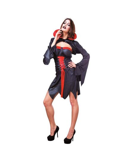 Costume Black Devil Donna