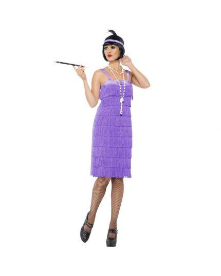 Costume Charleston Viola Donna