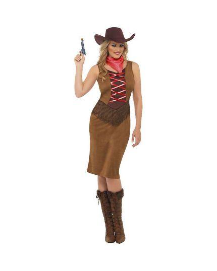 Costume Cowgirl con Frange Donna