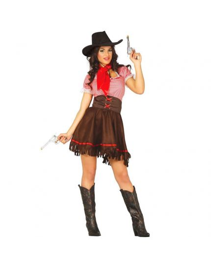 Costume Cowgirl del West Donna