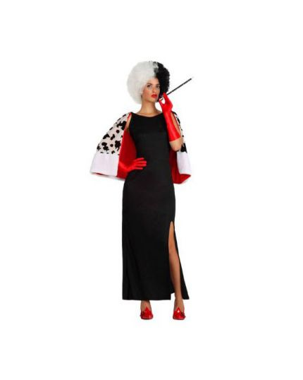 Costume Crudelia Donna Crudele Donna