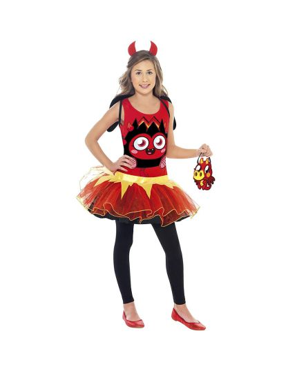 Costume Moshi Monsters Diavlo Bambina