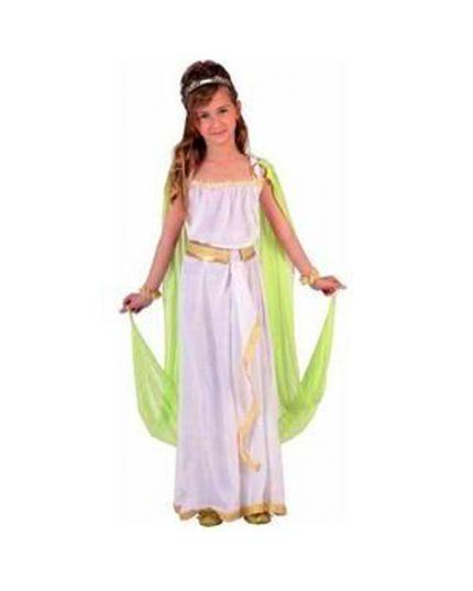 Costume Greca Verde Bambina