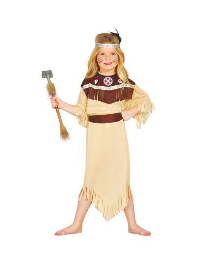 Costume Indiana Cherokee Bambina