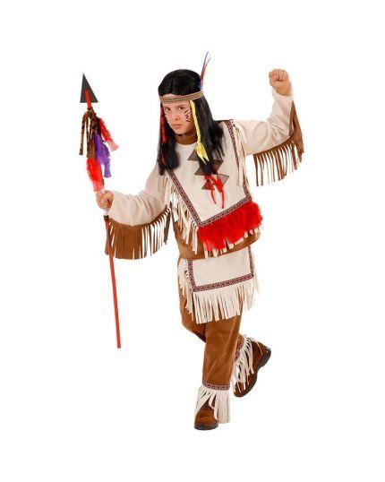 Costume Indiano Bambino con Frange