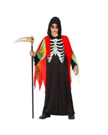 Costume Morte con Mantello Multicolor Bambino