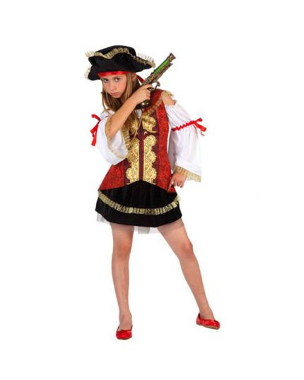 Costume Piratessa Deluxe Bambina