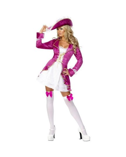 Costume Piratessa Fucsia Donna