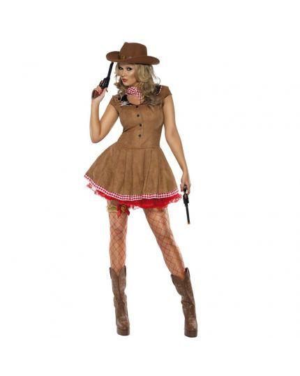 Costume Pistolera del West Donna