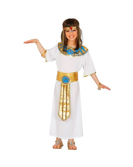 Costume Regina d'Egitto Bambina