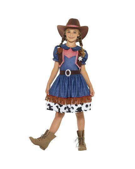 Costume Cowgirl Texana Bambina