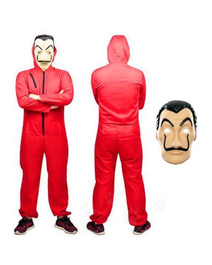Costume Casa de Papel Tuta e Maschera