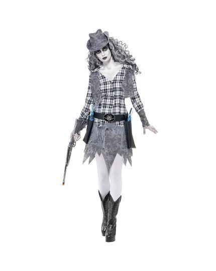 Costume Cowgirl Fantasma Donna