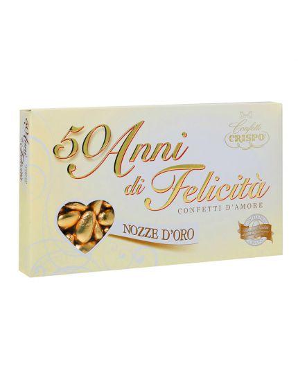Confetti Crispo 50 Anni Oro