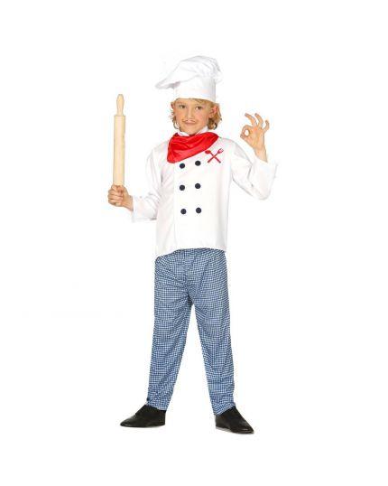 Costume Cuoco Bambino