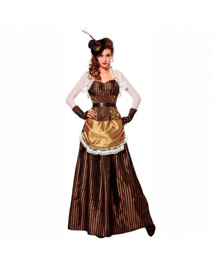 Costume Dama Steampunk Donna