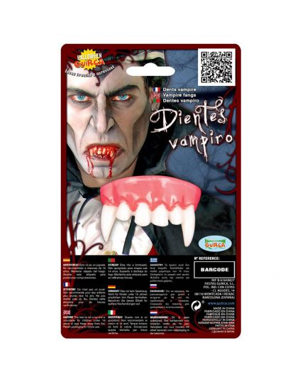 Denti Superiori Vampiro Horror