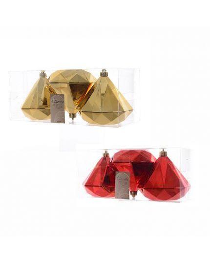 Decorazioni Maxi Diamanti Colorati Pvc Infrangibile 10cm