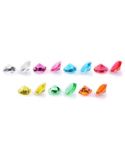 Diamantini Decorativi Colorati in Gelatina Alimentare