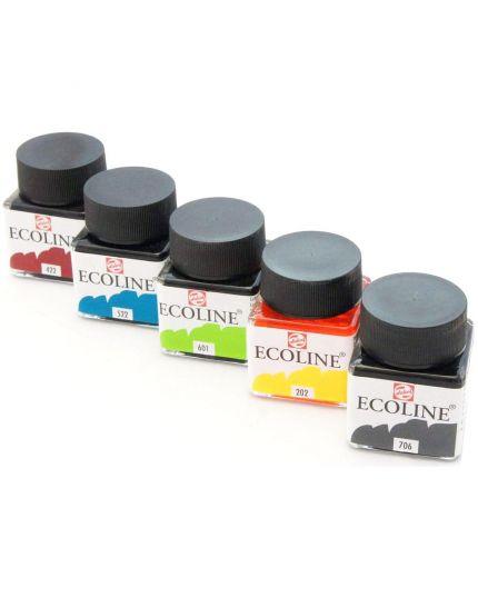Boccetta Colore Acquerello Liquido Ecoline Liquid Watercolor 30ml