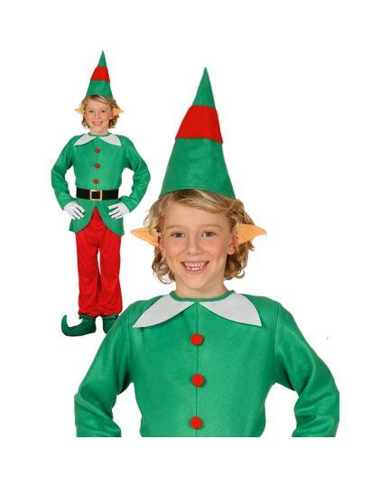Costume Elfo Natalizio Bambino
