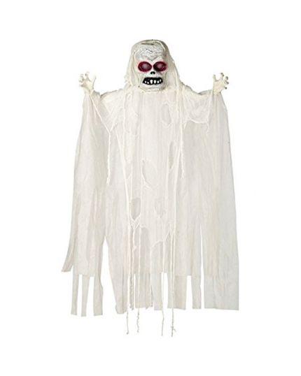 Fantasma da Appendere Bianco con Luci e Suoni 180cm