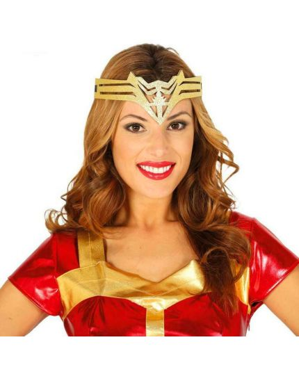 Tiara Fascia Wonder Woman