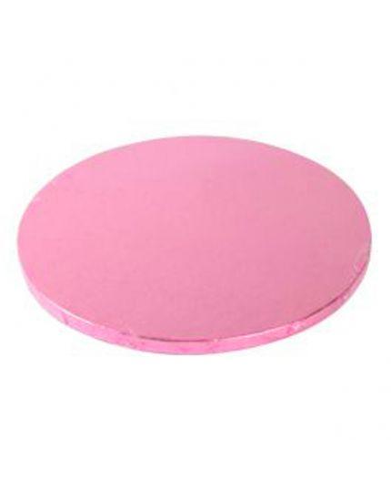 Sottotorta Rotondo Cartone Rosa
