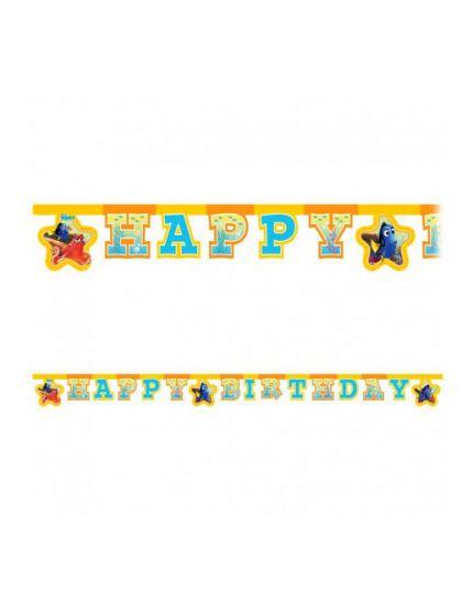 Festone Happy Birthday Alla Ricerca di Dory