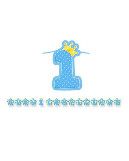 Festone Scritta Maxi Buon 1° Compleanno