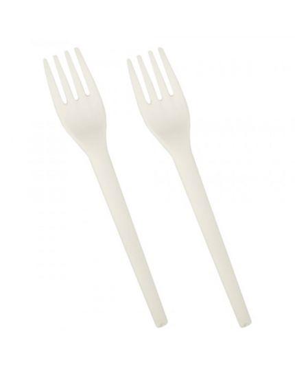 Forchette in Bioplastica C-PLA Biodegradabili