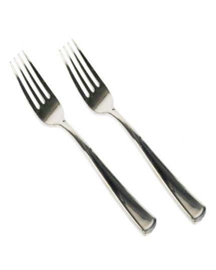 Forchette Pvc Metallizzate 50pz