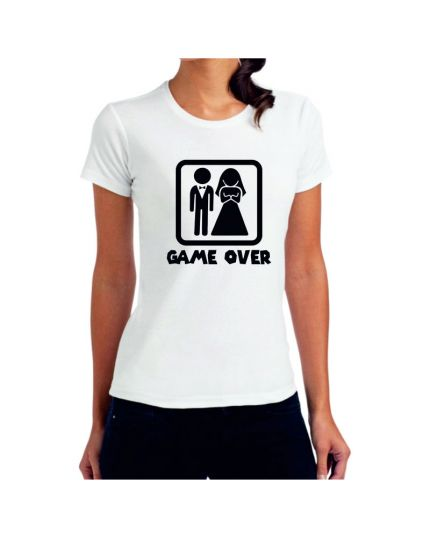 T-Shirt Donna Game Over