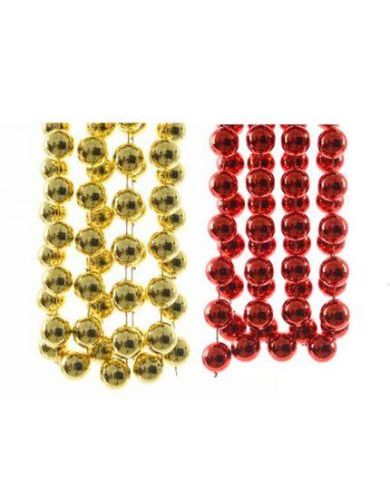 Ghirlanda Pvc Perle Colorate XXL 2cm