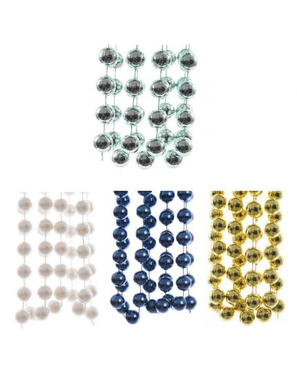 Filo Ghirlanda Perle XL Colorate 2cm