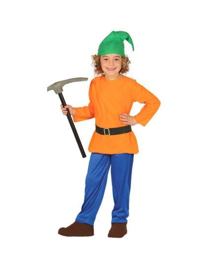 Costume Gnomo della Foresta Bambino