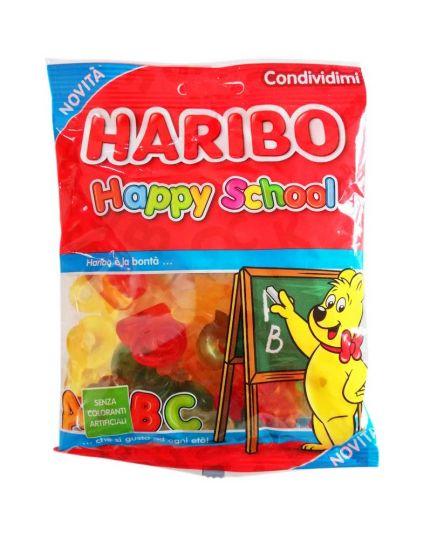 Caramelle Haribo Lettere Happy School 175gr