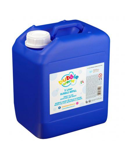 Ricarica Liquido per Bolle di Sapone 3/5Lt