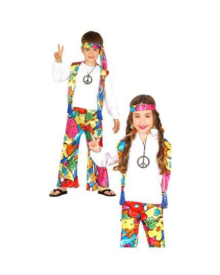 Costume Hippie Bambino Unisex