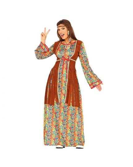 Costume Hippie Donna Lungo