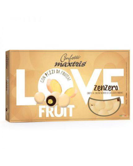 Confetti Maxtris Zenzero con Pezzi di Frutta 1kg