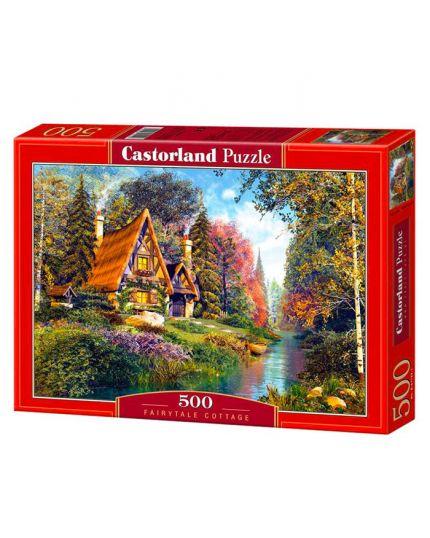 Puzzle Cottage Da Favola 500 Pezzi 47x33 Cm