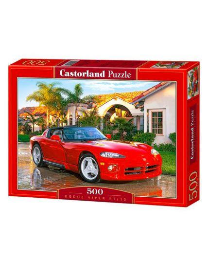 Puzzle Automobile Dodge Viper RT/10 500 Pezzi 47x33 Cm